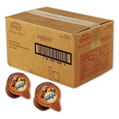 International Delight® Flavored Liquid Non-Dairy Coffee Creamer, Hazelnut, 0.44 oz Cups, 192 Cups/Carton