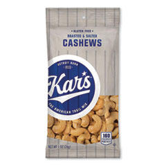Kar's Nut Snacks, Salted Cashews, 1 oz Packets, 30/Carton