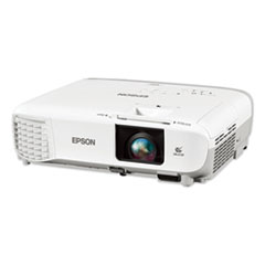 Epson® PowerLite 109W WXGA 3LCD Projector, 4,000 Lumens, 1280 x 800 Pixels, 1.2x Zoom