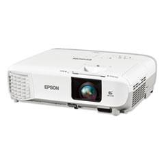Epson® PowerLite X39 XGA 3LCD Projector, 3,500 Lumens, 1024 x 768 Pixels, 1.2x Zoom