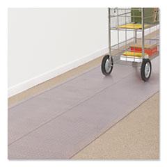 ES Robbins® Carpet Runner, 36 x 120, Clear