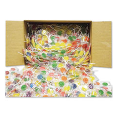 F.B. Washburn Candy Lollipops, Assorted Flavors, 0.21 oz, 1,440/Carton