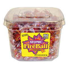 Atomic FireBall® Hard Candy, Cinnamon, 40.5 oz Tub