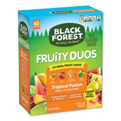 Black Forest® Fruity Duos Fruit Flavored Snack, Tropicical Fusion, 32 oz, 40/Box