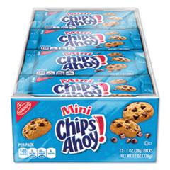Nabisco® Mini Chocolate Chip Cookies, 1 oz Packet, 12/Pack