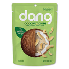 dang® Coconut Chips, Original, 1.43 oz Bag, 12/Carton