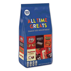 Hershey®'s All Time Greats Milk Chocolate Variety Pack, Assorted, 38.9 oz Bag