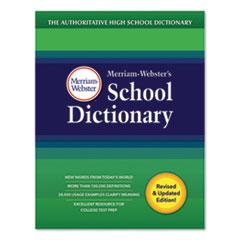 Merriam Webster® School Dictionary