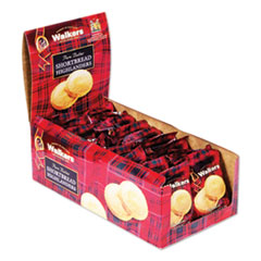 Walkers Shortbread Highlanders, 1.4 oz, 18/Box
