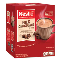 Nestlé® Hot Cocoa Mix, Milk Chocolate, 0.71 oz Packet, 60 Packets/Box