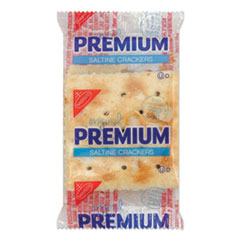 Nabisco® Premium Saltine Crackers, 0.05 oz Packet, 2/Packet, 500 Packets/Carton