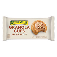 Nature Valley® Granola Cups, Almond Butter, 1.24 oz Pack, 12/Box