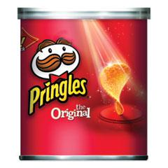 Pringles® Potato Chips, Original, 1.3 oz Canister, 36/Carton
