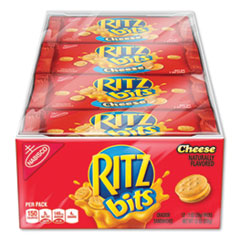 Nabisco® Ritz Bits, Cheese, 1 oz Pouch, 12/Pack