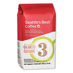 Seattle's Best™ Level 3 Whole Bean Coffee, Decaffeinated, 12 oz Bag