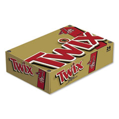 Twix® Sharing Size Chocolate Cookie Bar, 3.02 oz, 24/Box