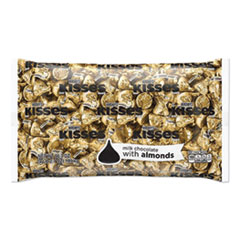 Hershey®'s KISSES Milk Chocolate with Almonds, 66.7 oz Bag