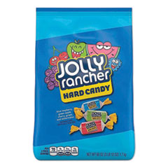 Jolly Rancher® Original Hard Candy, Assorted, Individually Wrapped, 60 oz