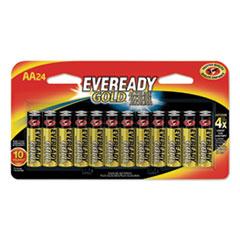 Eveready® Gold AA Batteries, 1.5V, 24/Pack