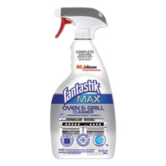 Fantastik® MAX MAX Oven and Grill Cleaner, 32 oz Bottle, 8/Carton