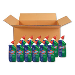 Clorox® Toilet Bowl Cleaner with Bleach, Fresh Scent, 24 oz Bottle, 12/Carton