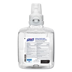 PURELL® Healthcare HEALTHY SOAP 0.5% PCMX Antimicrobial Foam, For CS8 Dispensers, Light Floral Scent, 1,200 mL, 2/Carton