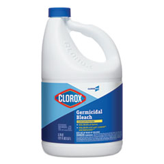 Clorox® Concentrated Germicidal Bleach, Regular, 121 oz Bottle