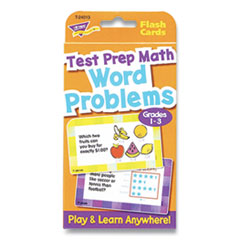 """TREND® Challenge Cards Flash Cards, Math, Grades 4-6, 3.12"""" x 5.25"""", 56/Pack"""
