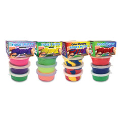 Zorbitz Fidget Putty Activity Set, Random Color and Theme Assortment, 3/Pack
