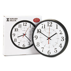 Howard Miller® Alton Auto Daylight Savings™ Wall Clock