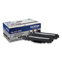Brother TN2272PK High-Yield Toner, 3,000 Page-Yield, Black, 2/Pack