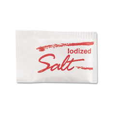 Diamond Crystal Salt Packets, 0.75 grams, 3,000/Carton