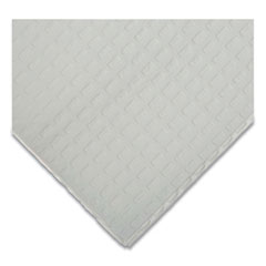 TIDI® Disposable Towels/Bibs, Waffle Embossed, White, 500/Carton