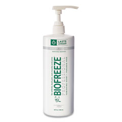 BIOFREEZE® Fast Acting Menthol Pain Relief Topical Analgesic, Colorless Gel, 32 oz Pump Bottle