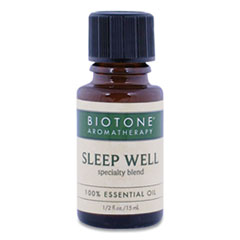 Biotone® Sleep Well Essential Oil,  0.5 oz Bottle, Woodsy Scent
