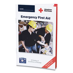 First Aid Only™ American Red Cross Emergency First Aid Guide, 48 Pages
