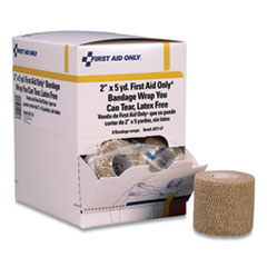 """First Aid Only™ Bandage Wrap You Can Tear, 2"""" x 15 ft, 8/Box"""