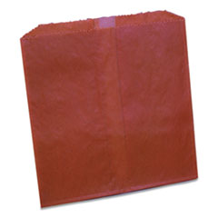 Impact® Waxed Sanitary Napkin Disposal Liners, 8.1 x 06. x 9.05, Brown, 500/Carton