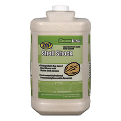 Zep Professional® Shell Shock Heavy Duty Soy-Based Hand Cleaner, Vanilla, 1 gal Bottle, 4/CT