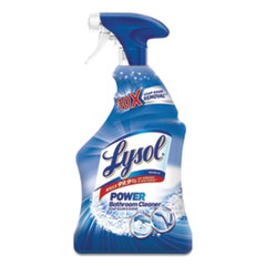 LYSOL® Brand Disinfectant Bathroom Cleaners, Liquid, Island Breeze, 32 oz Spray Bottle, 12/Carton