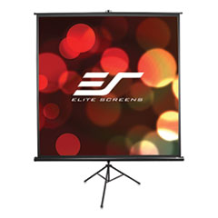 Elite Screens Tripod Pro Series Projector Screen, 60 x 60, White