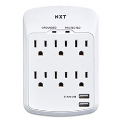 NXT Technologies™ Wall-Mount Surge Protector