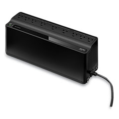 APC® BN900M Back-UPS 900 VA Battery Backup System, 9 Outlets, 900 VA, 354 J