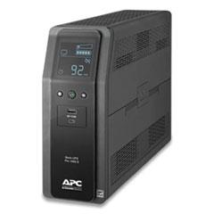 APC® BR1000MS Back-UPS PRO BR Series SineWave Battery Backup System, 10 Outlets, 1000VA, 1080 J