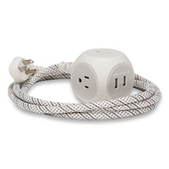 360 Electrical Habitat® Premium Extension Cord + USB