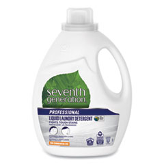 Seventh Generation® Professional Liquid Laundry Detergent, Free and Clear, 66 loads, 100oz Bottle