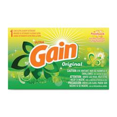 Gain® Powder Laundry Detergent, Original Scent, 1.8 oz Box, 156 Boxes/Carton