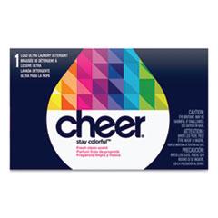 Cheer® Powder Laundry Detergent, Fresh Clean Scent, 1.5 oz Box, 156/Carton