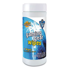 Dust-Off® Gaming Gear Wipes, 80 Tub