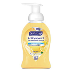 Softsoap® Sensorial Foaming Hand Soap, 8.75 oz Pump Bottle, Zesty Lemon, 6/Carton